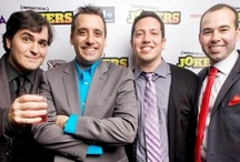 Impractical Jokers  / The Tenderloins /  Cause theyre fucking funny ,thats why. / by Amber Skye Puckett