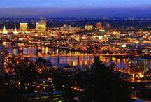"All Things Portland, Oregon / A glimpse of the beautiful city I call ""home"", Portland, Oregon. / by Rhonda Laycoe"