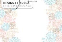 Free Blog Backgrounds / by Carolynn | Design It Love It