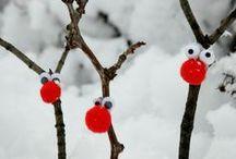 to make ● winter / Winter ☃ winter ☃ hiver ☃ winter / by reizenbee