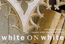 white ON white / by Carmen Cecilia de Isaza