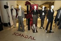 SAKS FIFTH AVENUE / Check out the Scandal cast with their Mannequin Doppelgängers at Saks Fifth Avenue in New York City in honor of the season 3 premiere of Scandal. Watch new episodes of Scandal on Thursdays at 10|9c on ABC! / by Scandal