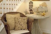 Beach Decor and accent pieces / by Erika Saeppa Lovingfoss