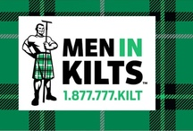 Men in kilts / by Erika Saeppa Lovingfoss