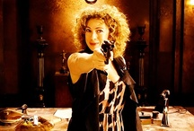 River and her gun / River Song and her handy gun. / by Anza