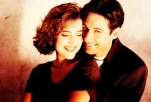 "The X-Files / ""I always said that the secret to the X-Files was, simply this: Mulder loves Scully, and Scully loves Mulder."" ~ Chris Carter / by Anza"