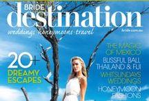 Destination Weddings / Combining your wedding with fabulous, exotic travel makes for a magical experience. Be inspired by our favourite ideas for your ideal Destination wedding. / by Bride.com.au