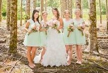 Colour Inspiration: Mint / Soft and fresh. Cool mint tones are right on trend. / by Bride.com.au