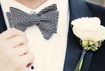 Colour Inspo: Black & White / Classic and elegant. A chic choice for your wedding colour palette. / by Bride.com.au
