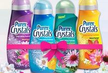 Scent-sational Spring, Inspired by Purex / Enter to win a four-pack of Purex Crystals laundry enhancer in this Pinterest giveaway! / by Purex
