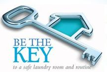 Laundry Safety / Laundry detergent packs may be harmful if swallowed and can be an eye irritant. Learn how to create a safe laundry room and routine. / by Purex
