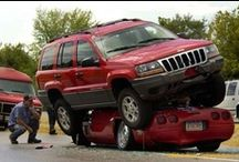Crashed Cars - Car Accidents / Fotos de carros acidentados (batidos) Crashed Cars - acidentes de carro / by Jorge Cavalcante (JORGENCA)