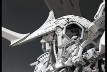 Mecha Toys / Pictures of mecha. And toys. Of all sorts. / by Erwin Anthony Nañes