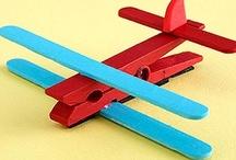 craft ideas for kids / by Wendy Hanson