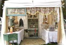 Craft and Vendor Show Ideas / Here you'll find all kinds of ways to display your items at a craft or vendor show. / by Dixie Henderson