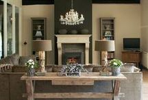 Lovely Home Designs / Love Natural with a touch of color!  / by Stacey Trap
