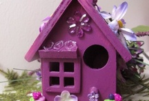 Birds and bird houses / by Marianne Bondalapati