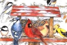 Birds art / by Marianne Bondalapati