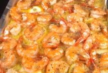 Seafood recipes / by Carolyn Perkins