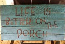 Beauty of Porches / by Donna Graham