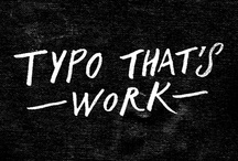 typo that's work / by Nattapong Leckpanyawat