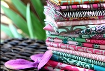 My Fabric Lines / Studio photos from a variety of my fabric lines including, inspiration and sewing projects.  / by Pat Bravo