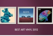 Best Art Vinyl 2012 / Best Art vinyl is an annual poll to find the best vinyl record sleeve art of the year. Each year, Art Vinyl and music industry design experts nominate a shortlist of 50 sleeve designs for the award that are celebrated in exhibitions around the UK and Europe. Everyone can vote whether for a nominated sleeve design or one of their own choice. The Best Art Vinyl poll was first run in 2005. Here's the winners for Best Art Vinyl 2012! / by Art Vinyl