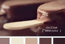 Colour-Brown Eyed Girl / Yummy Chocolatey shades / by The Inspired Nester