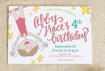 Invitations for kids / by memory moments