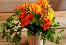 Fresh Flower Arrangements / Flower arrangements with fresh fruit, vegetables, herbs, and more! / by Flower Empowered
