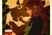 Coffee/Bakery Dreams / by Kristen Fullerton