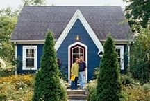 Home Sweet Home / Smaller footprint floor plans with Eco-friendly adaptability and accessories.  / by Kristen Fullerton