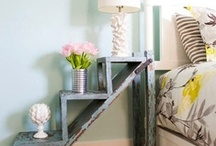 Repurposing Ideas {Bedroom} / Repurposed and upcycled inspiration for your bedroom. / by Dinah Wulf {DIY Inspired}