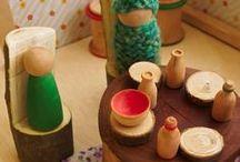 Let's Pretend... / Pretend play ideas for preschoolers / by Ann Harquail (My Nearest & Dearest)