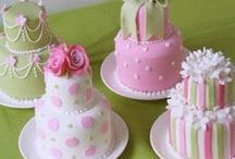 Cakes...Mini and Pop / by Carolyn Greer
