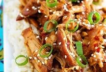Asian food / by Sheri Schultz