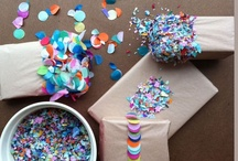 Giving / Ideas for gifts & wrapping.  / by Sophia Jorris
