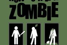 uh oh zombies / by Auburn Tyssen