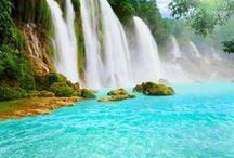 Waterfalls around the world / Photos of beautiful waterfalls around the world / by Caz and Craig @yTravelBlog