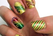 Holiday Nails / Manicures for the holidays / by Opal Carew