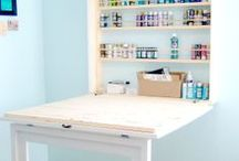 Home - Craft Room Org and Storage / by Jan Horwood