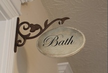 Bath Ideas / by Rose Red