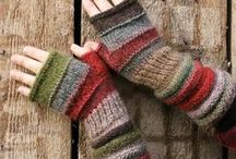 fingerless / I thought making fingerless gloves for Christmas gifts would be fun, there are just so many great patterns to choose from. / by Patty Peterson