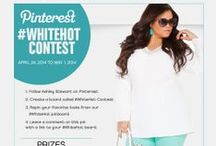 #WhiteHot Contest / 1) Follow Ashley Stewart on Pinterest.  2) Create a board called #WhiteHot on your personal Pinterest page.  3) Repin your favorite looks from our #WhiteHot Contest pinboard.       4) Leave a comment on the contest rules pin with a link to your #WhiteHot pinboard.   / by Ashley Stewart