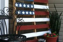 Pallet ideas / Different projects I would like to make.  / by Karen Hetrick