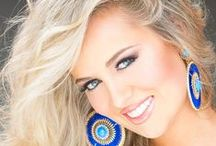 Previous Miss Alabama Teen USA Titleholders / (2013) Lorin Holcombe, (2012) Peyton Brown / by RPM Productions, Inc.
