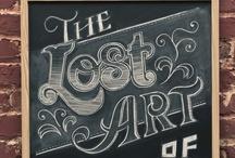 Typography / by Suzette Rovelsky