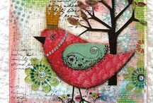 SCRAPBOOKING/ PAPER CRAFTS/ALTERED / by Annette DeBartolo