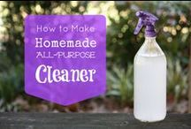 Clean it up! / cleaning tips and ideas / by LoriBrat