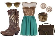 Styles & Fashion We Love / We love the modern vintage look as well as traditional western designs. Particularly anything that looks good with boots! / by Durango Boots